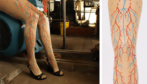 Weird Product of the Day: Veiny Tights