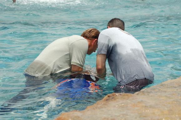 Allen's Baptizing July 17 2006 014
